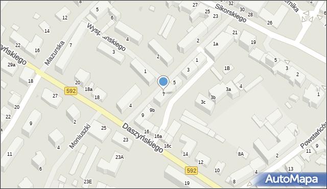 Kętrzyn, Mielczarskiego Romualda, 7, mapa Kętrzyn