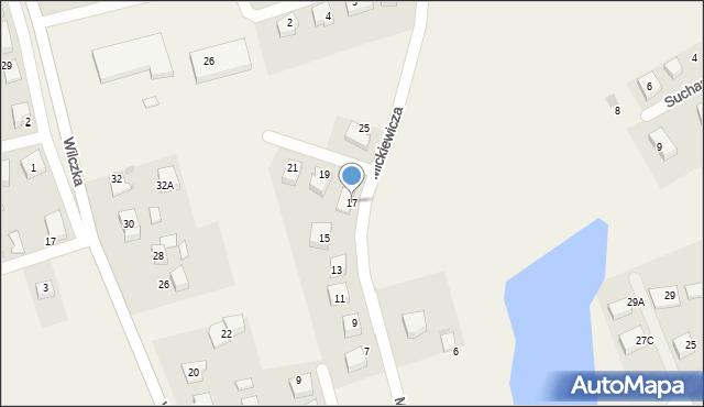 Luzino, Mickiewicza Adama, 17, mapa Luzino