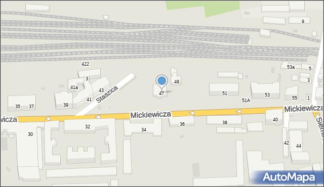 Przemyśl, Mickiewicza Adama, 47, mapa Przemyśla