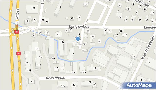Rzeszów, Miedziana, 4, mapa Rzeszów