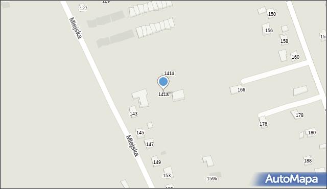 Rzeszów, Miejska, 141a, mapa Rzeszów