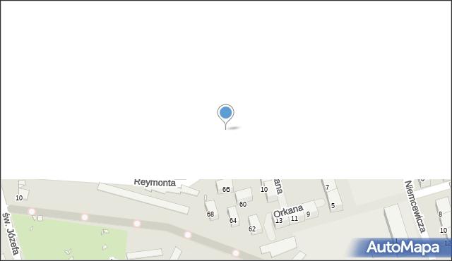 Zabrze, Michała Archanioła, 10a, mapa Zabrza