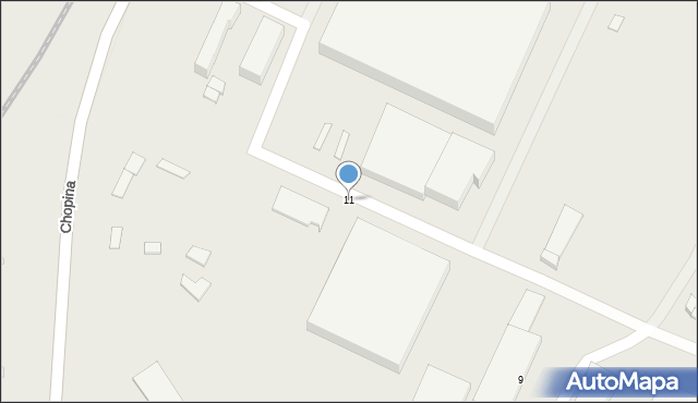 Gorlice, Młyńska, 11, mapa Gorlic
