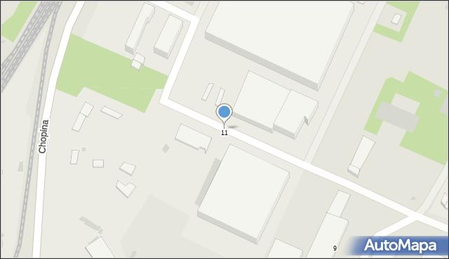 Gorlice, Młyńska, 11a, mapa Gorlic