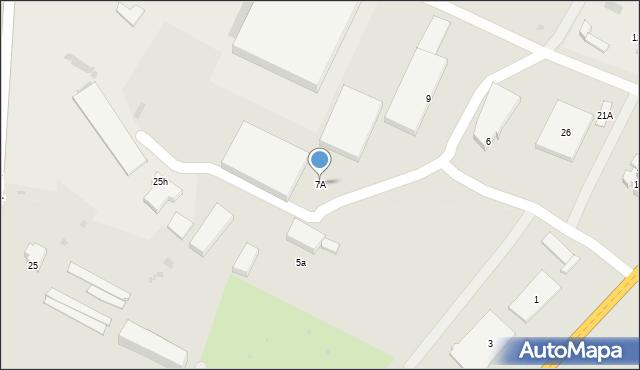Gorlice, Młyńska, 7A, mapa Gorlic