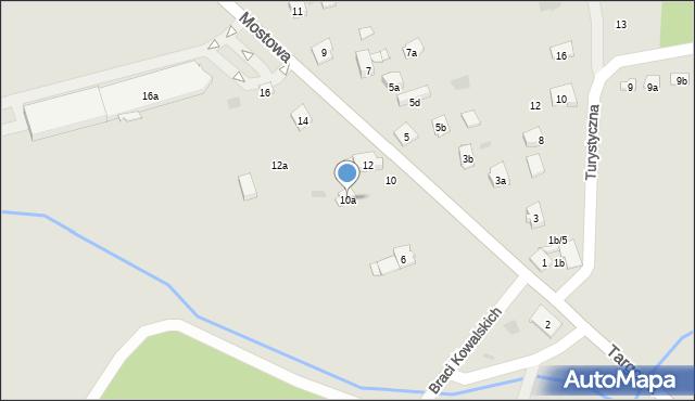 Dobczyce, Mostowa, 10a, mapa Dobczyce