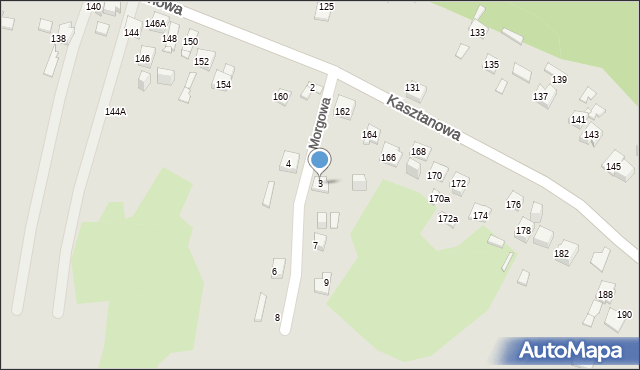 Jaworzno, Morgowa, 3, mapa Jaworzno