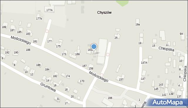 Tarnów, Mościckiego Ignacego, 161B, mapa Tarnów
