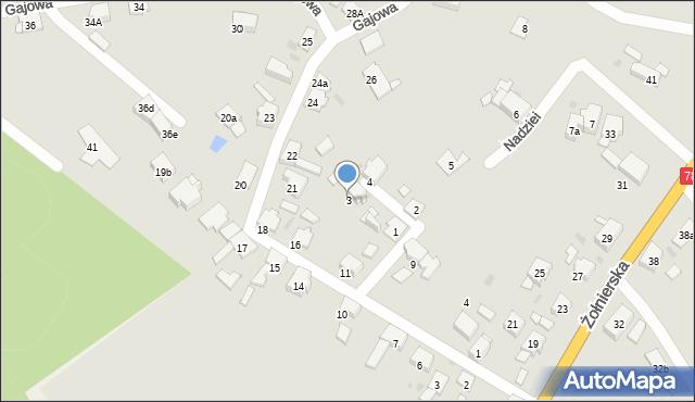 Bytom, Nadziei, 3, mapa Bytomia