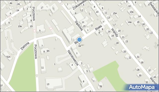 Jaworzno, Narutowicza Gabriela, 1a, mapa Jaworzno