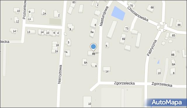 Polkowice, Nasturcjowa, 8B, mapa Polkowice