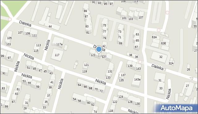 Bytom, Nickla Józefa, 125, mapa Bytomia