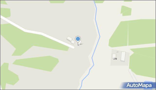 Grudziądz, Niesiołowskiego Tymona, 1, mapa Grudziądza