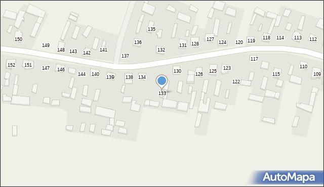 Niezdów, Niezdów, 133, mapa Niezdów
