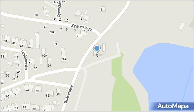 Radom, Nizinna, 73, mapa Radomia