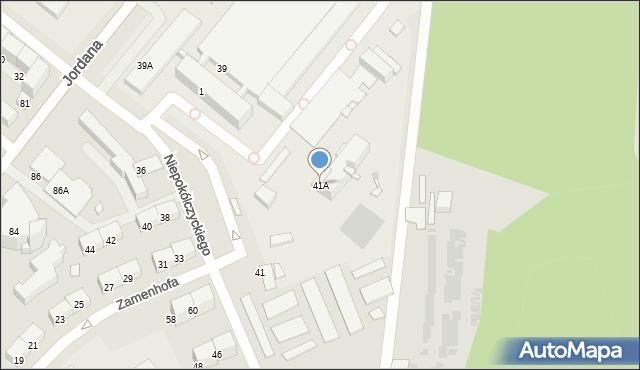Zabrze, Niepokólczyckiego Franciszka, płk., 41A, mapa Zabrza