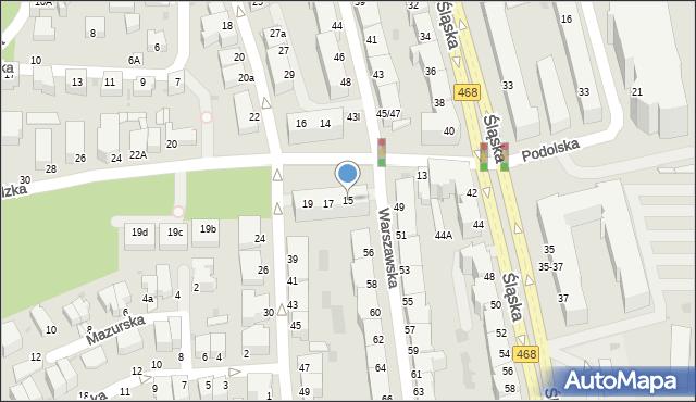 Gdynia, Nowogrodzka, 15, mapa Gdyni
