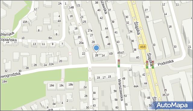 Gdynia, Nowogrodzka, 16, mapa Gdyni