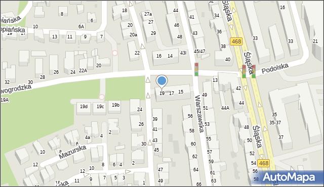 Gdynia, Nowogrodzka, 19, mapa Gdyni