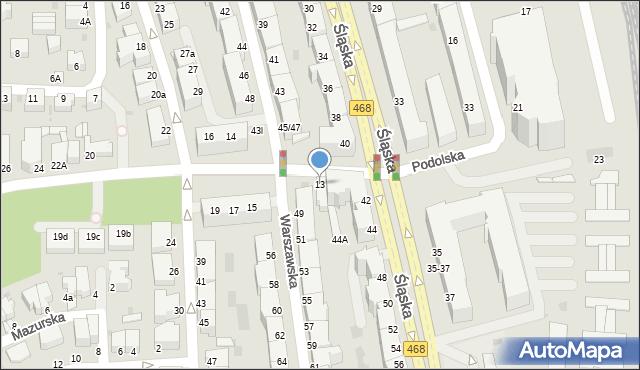 Gdynia, Nowogrodzka, 13, mapa Gdyni