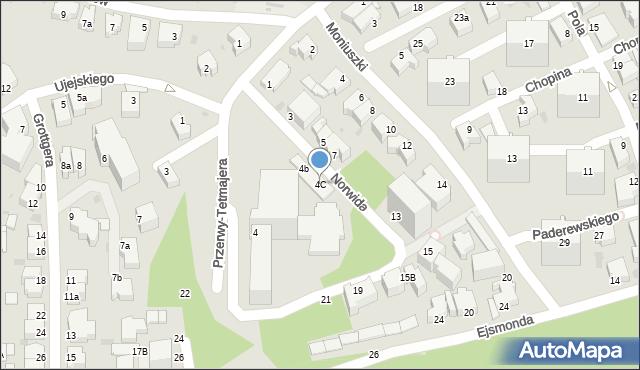 Gdynia, Norwida Cypriana Kamila, 6, mapa Gdyni