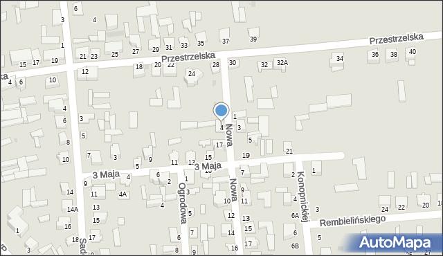 Jedwabne, Nowa, 4, mapa Jedwabne