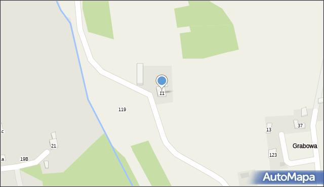 Nowa Wieś, Nowa Wieś, 11, mapa Nowa Wieś
