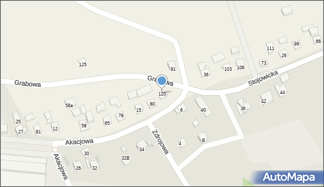 Nowa Wieś, Nowa Wieś, 120, mapa Nowa Wieś