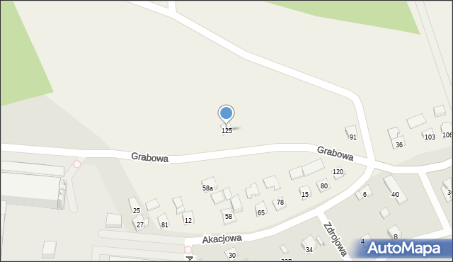 Nowa Wieś, Nowa Wieś, 125, mapa Nowa Wieś