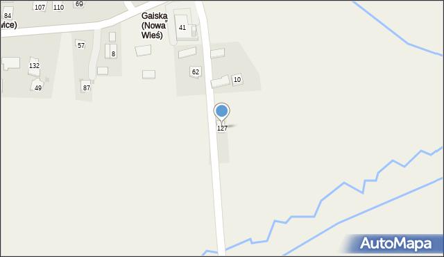 Nowa Wieś, Nowa Wieś, 127, mapa Nowa Wieś