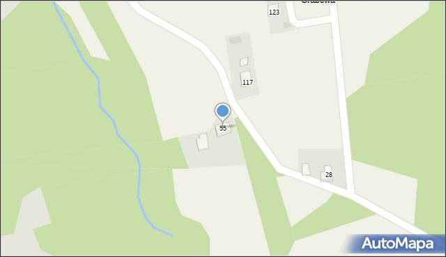 Nowa Wieś, Nowa Wieś, 55, mapa Nowa Wieś