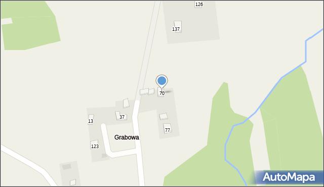 Nowa Wieś, Nowa Wieś, 70, mapa Nowa Wieś