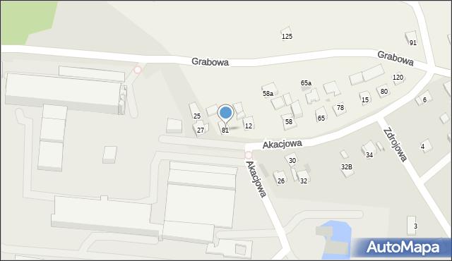 Nowa Wieś, Nowa Wieś, 81, mapa Nowa Wieś