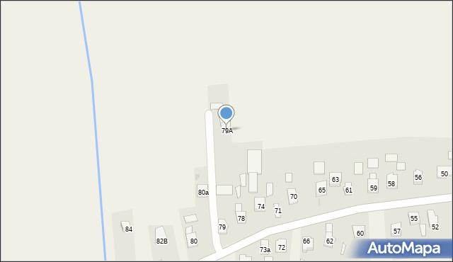 Nowa Wieś, Nowa Wieś, 79A, mapa Nowa Wieś