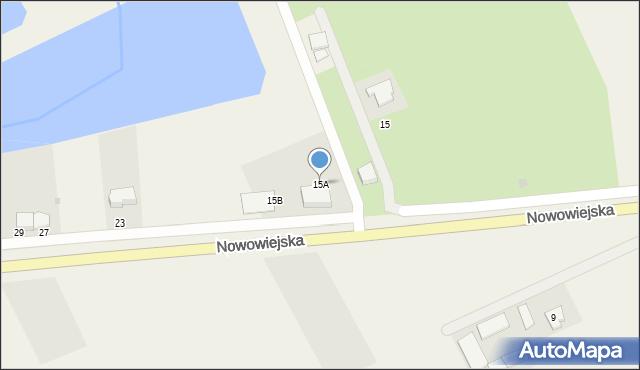 Nowa Wieś Ełcka, Nowowiejska, 15A, mapa Nowa Wieś Ełcka