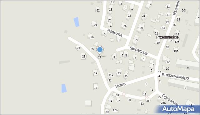 Opole Lubelskie, Nowa, 27, mapa Opole Lubelskie