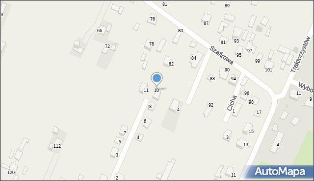 Wacyn, Nowa, 10, mapa Wacyn