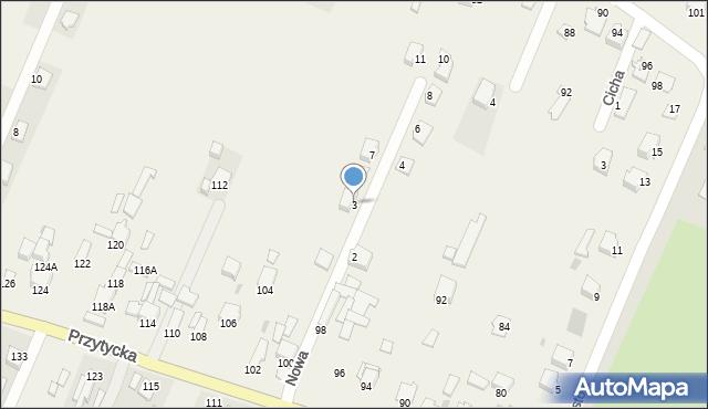 Wacyn, Nowa, 3, mapa Wacyn