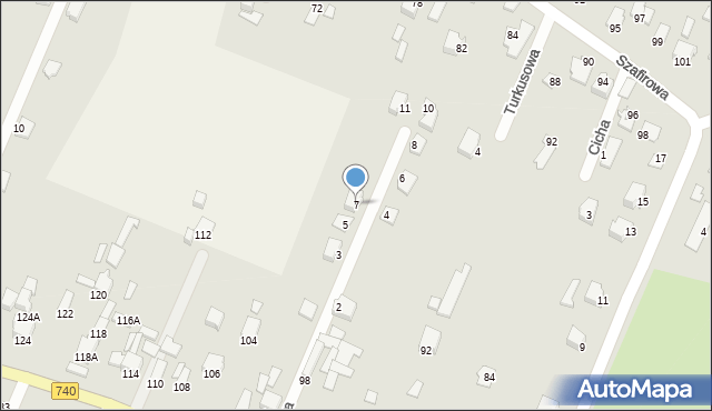 Wacyn, Nowa, 7, mapa Wacyn