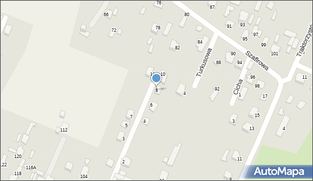 Wacyn, Nowa, 8, mapa Wacyn