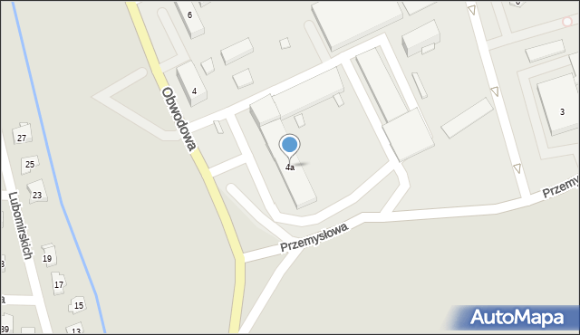 Dobczyce, Obwodowa, 4a, mapa Dobczyce
