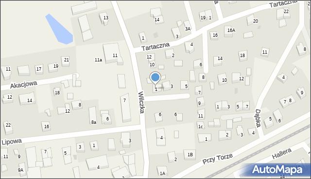 Luzino, Obrońców Poczty Gdańskiej, 1, mapa Luzino