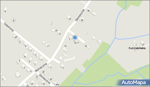 Limanowa, Ociepki Tadeusza, 4, mapa Limanowa