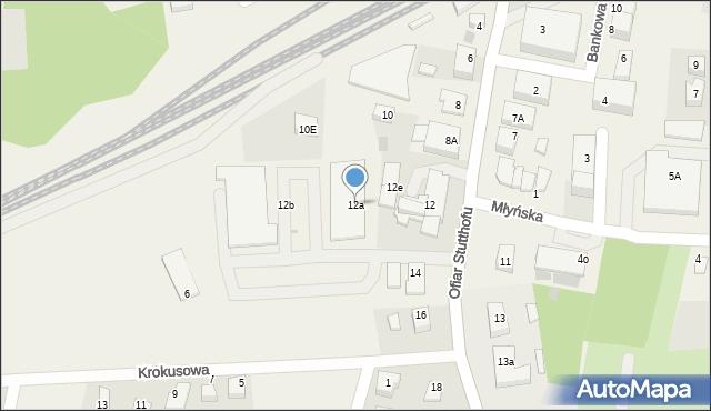 Luzino, Ofiar Stutthofu, 12a, mapa Luzino