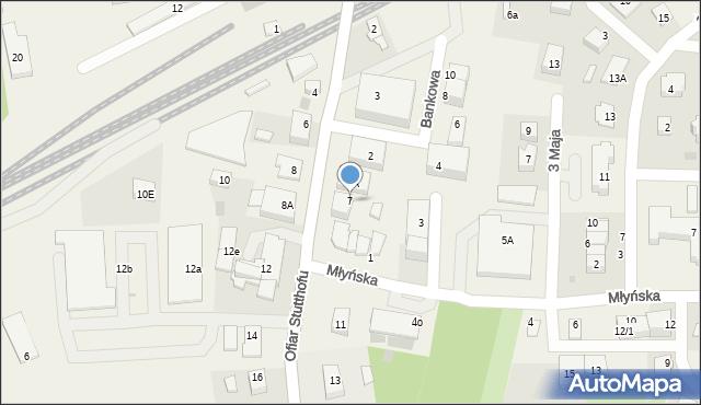 Luzino, Ofiar Stutthofu, 7, mapa Luzino