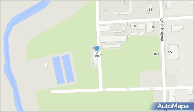 Przemyśl, Ofiar Katynia, 16E, mapa Przemyśla