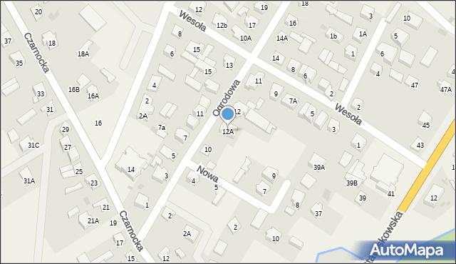 Piątnica Poduchowna, Ogrodowa, 12A, mapa Piątnica Poduchowna