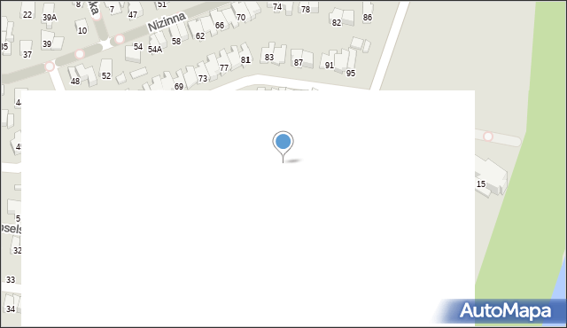 Radom, Olimpijska, 9, mapa Radomia