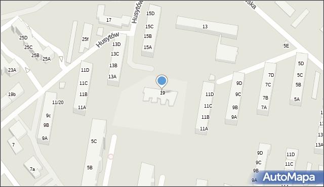Gdańsk, Orłowska, 19, mapa Gdańska
