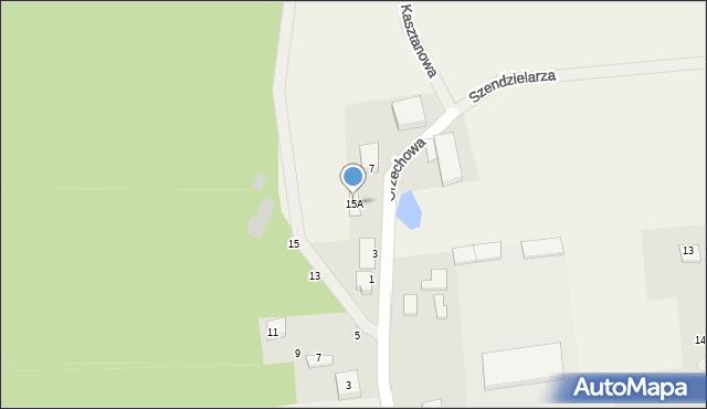 Kębłowo, Orzechowa, 15A, mapa Kębłowo